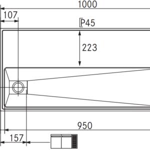 RVS Tapblad Franke ST-TB100